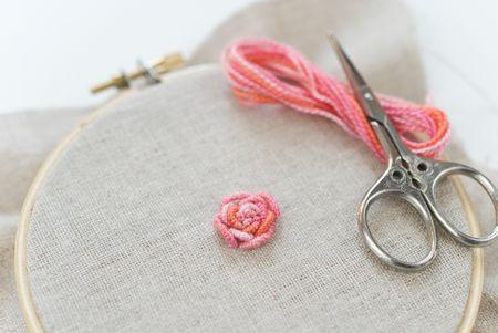 Bullion Knot Rose Tutorial