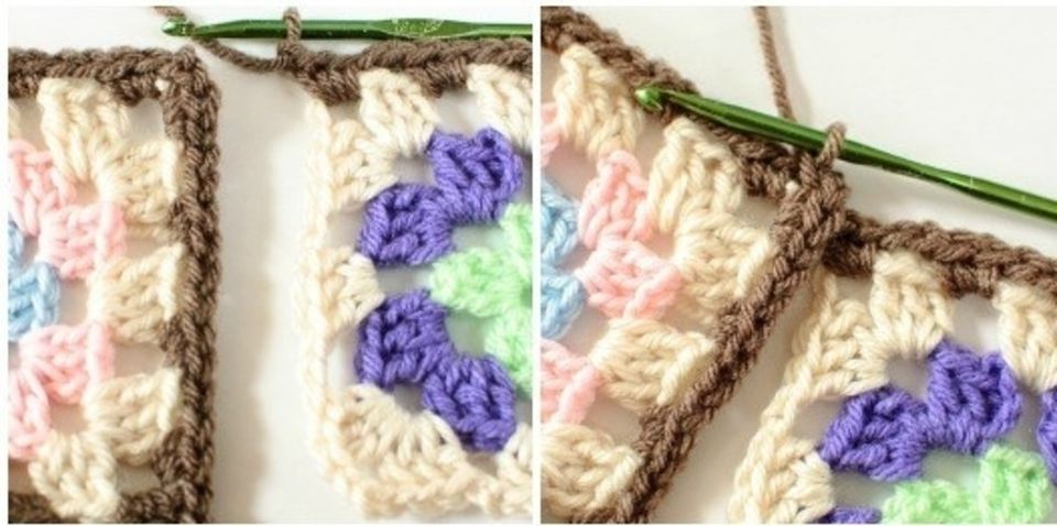 Join As You Go Crochet Granny Square