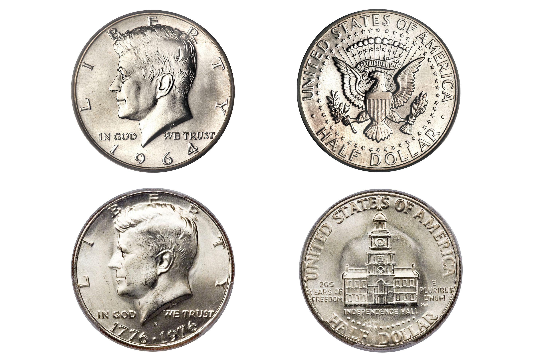 Kennedy Half-Dollar designs
