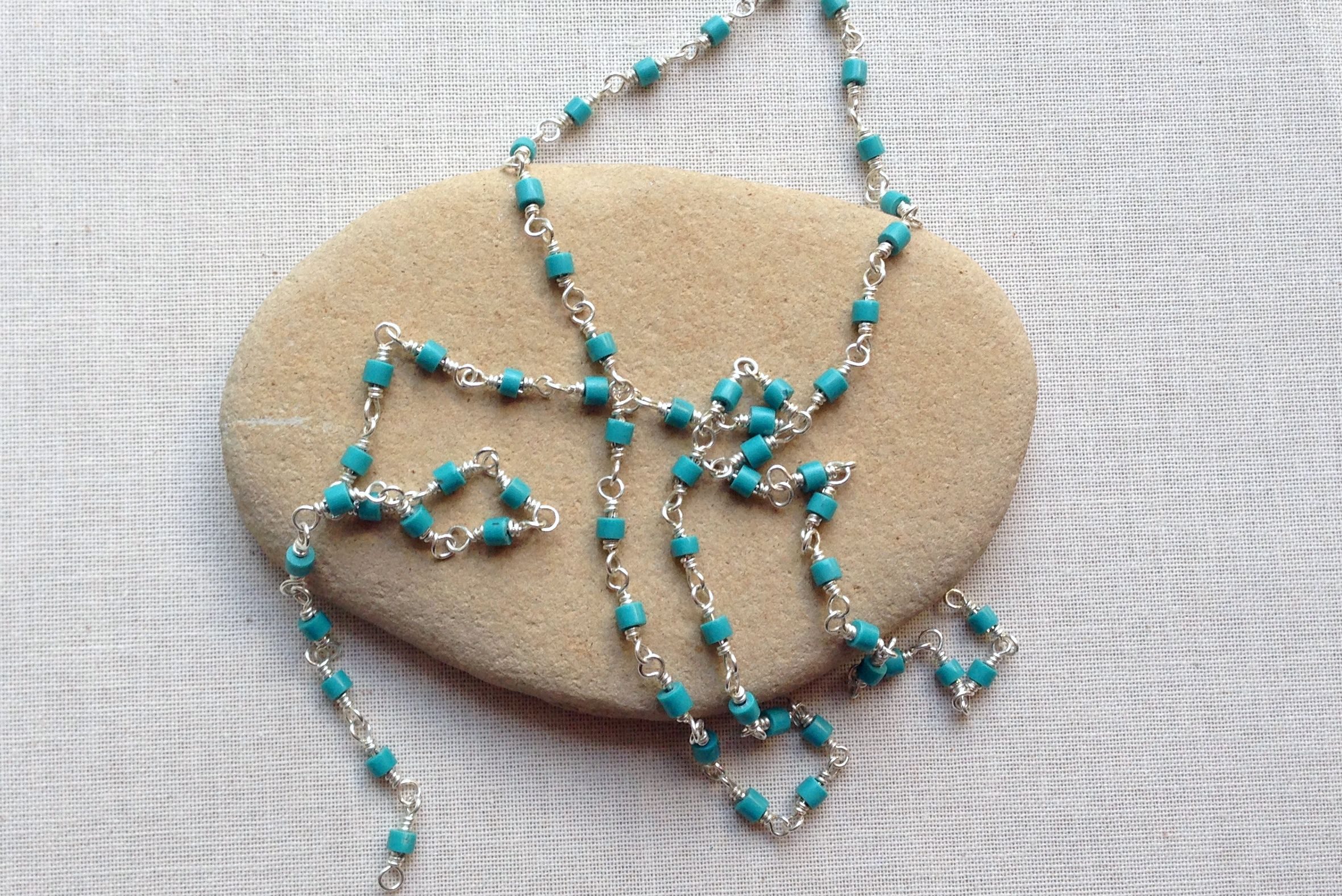 Wire wrap Bead Chain