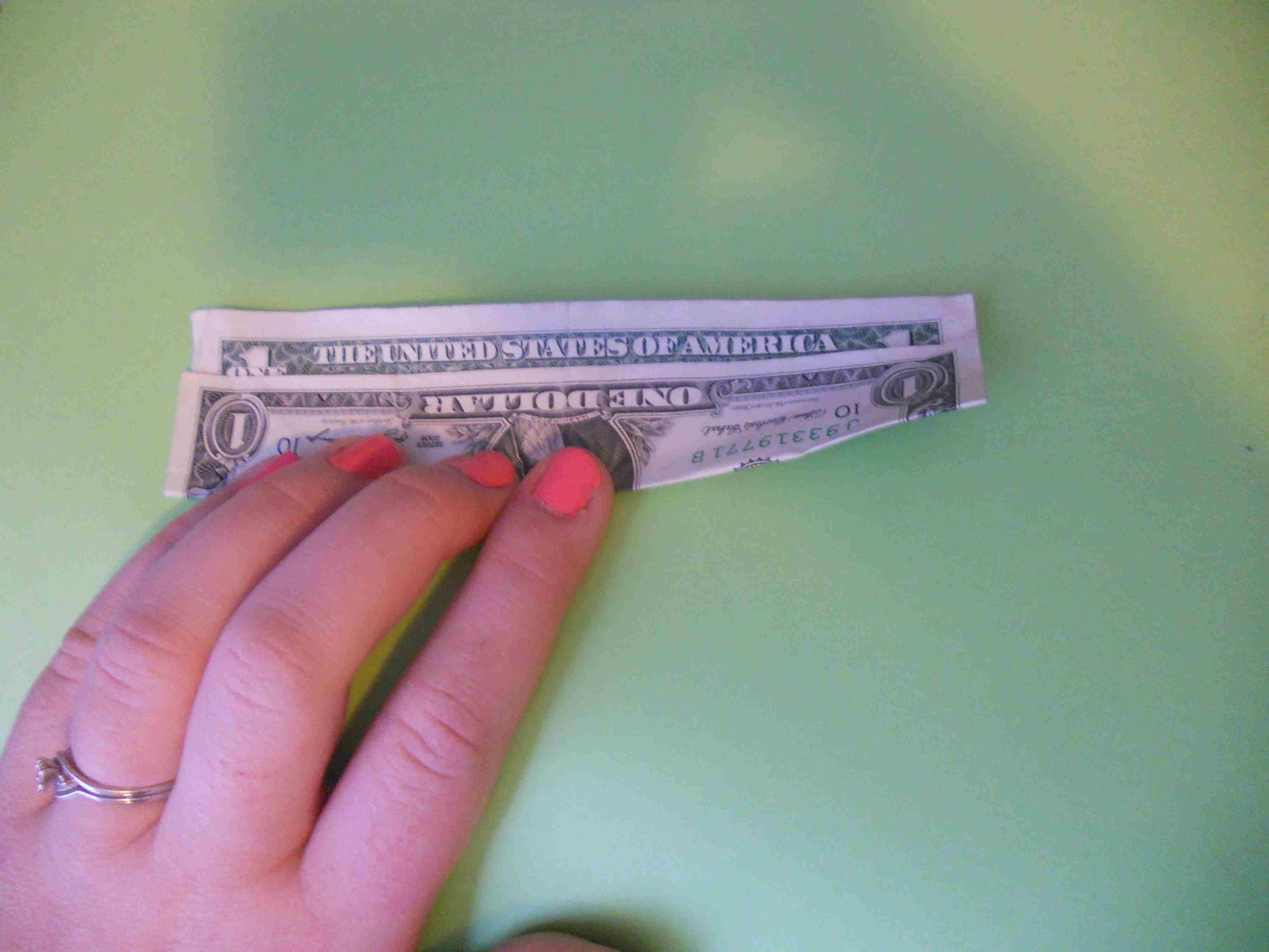 How to Make a Money Origami Kusudama Flower - photo#41