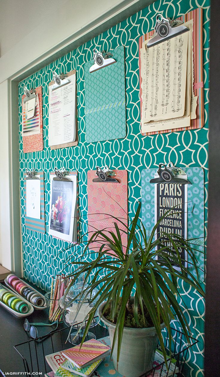 Bulletin Board Diys To Get Organized