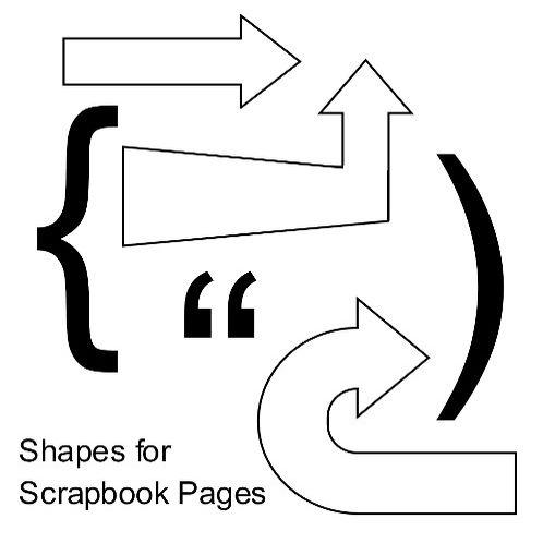 Free Scrapbook Page Embellishment Patterns