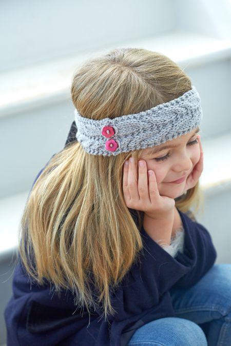 Free Knitting Pattern Cabled Headband