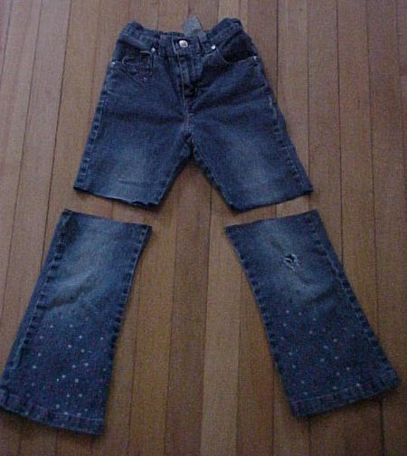 050cf9cdd1 Cut off the legs of your jeans