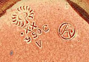 Louise Abel Incised Rookwood Pottery Mark
