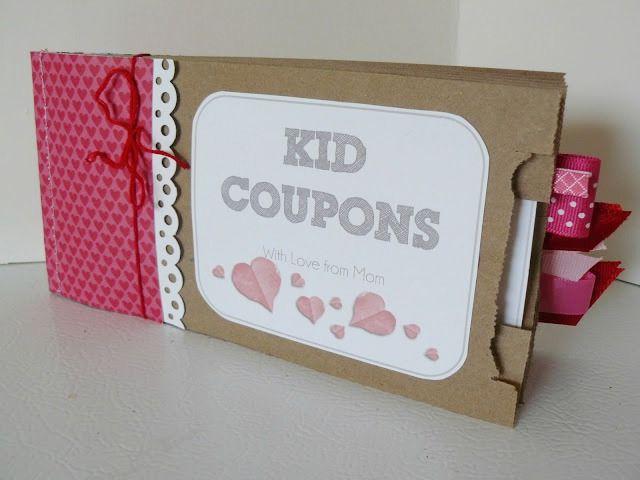 paper bag coupon holder craft