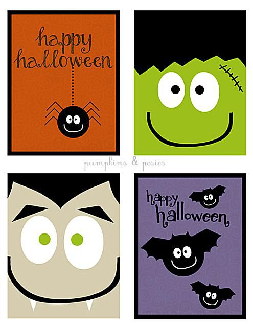 free halloween cards you can print