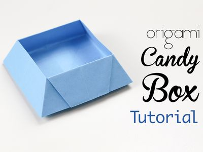 Origami Star Masu Box Step By Step Instructions