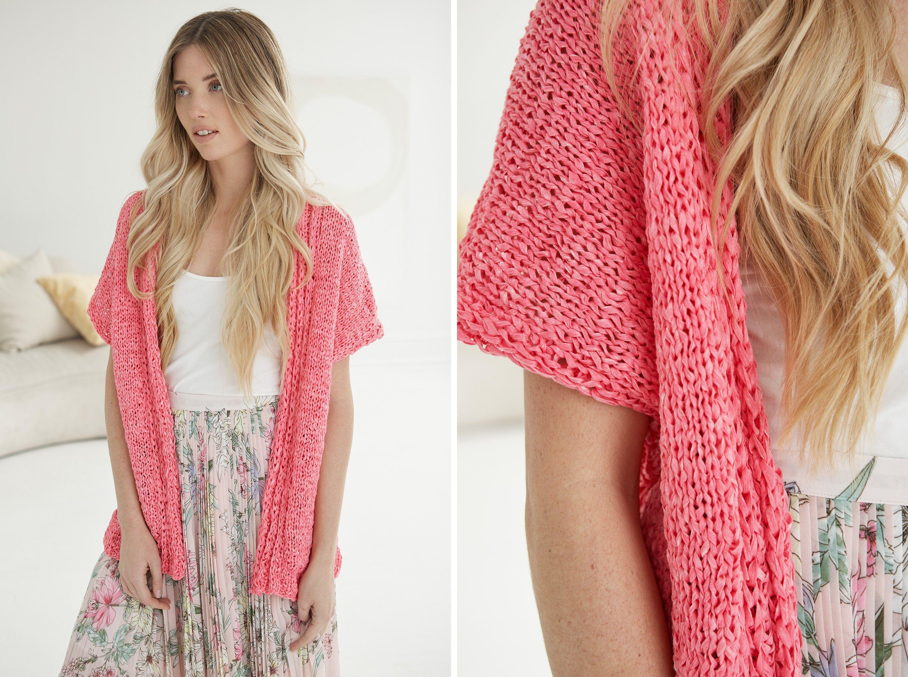 Breezy Cardigan Knitting Pattern