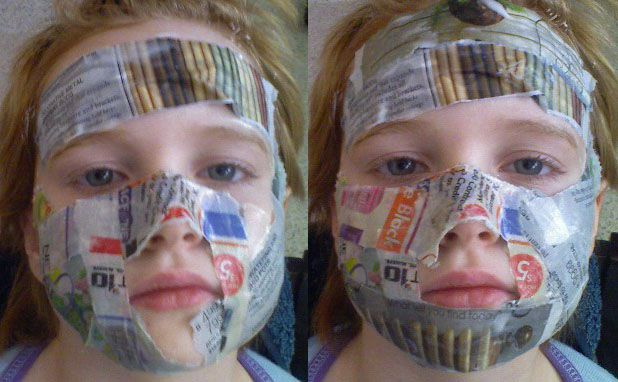How To Make Your Own Paper Mache Mask