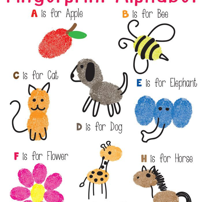 fingerprint alphabet
