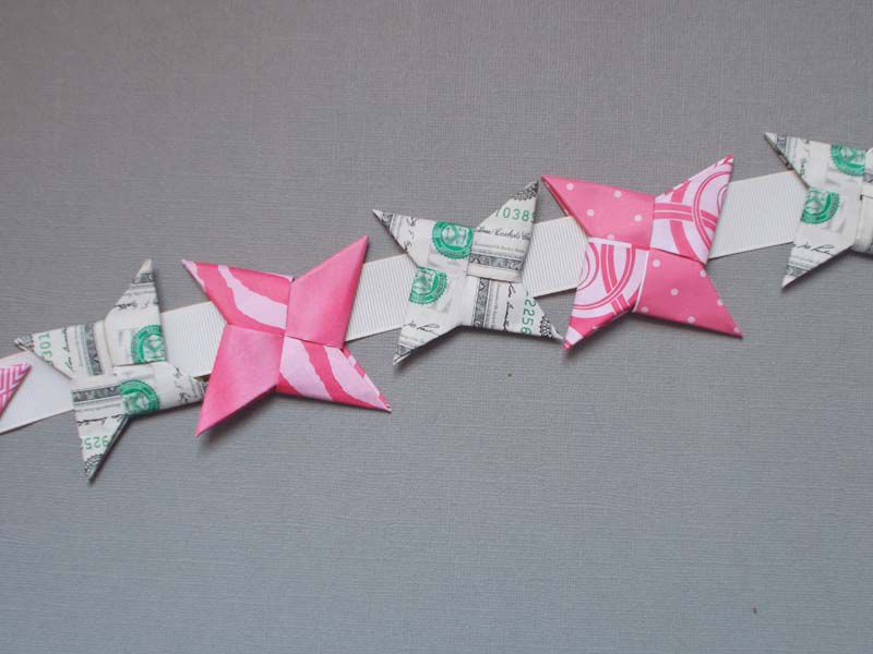 How To Make An Origami Ninja Star With Money