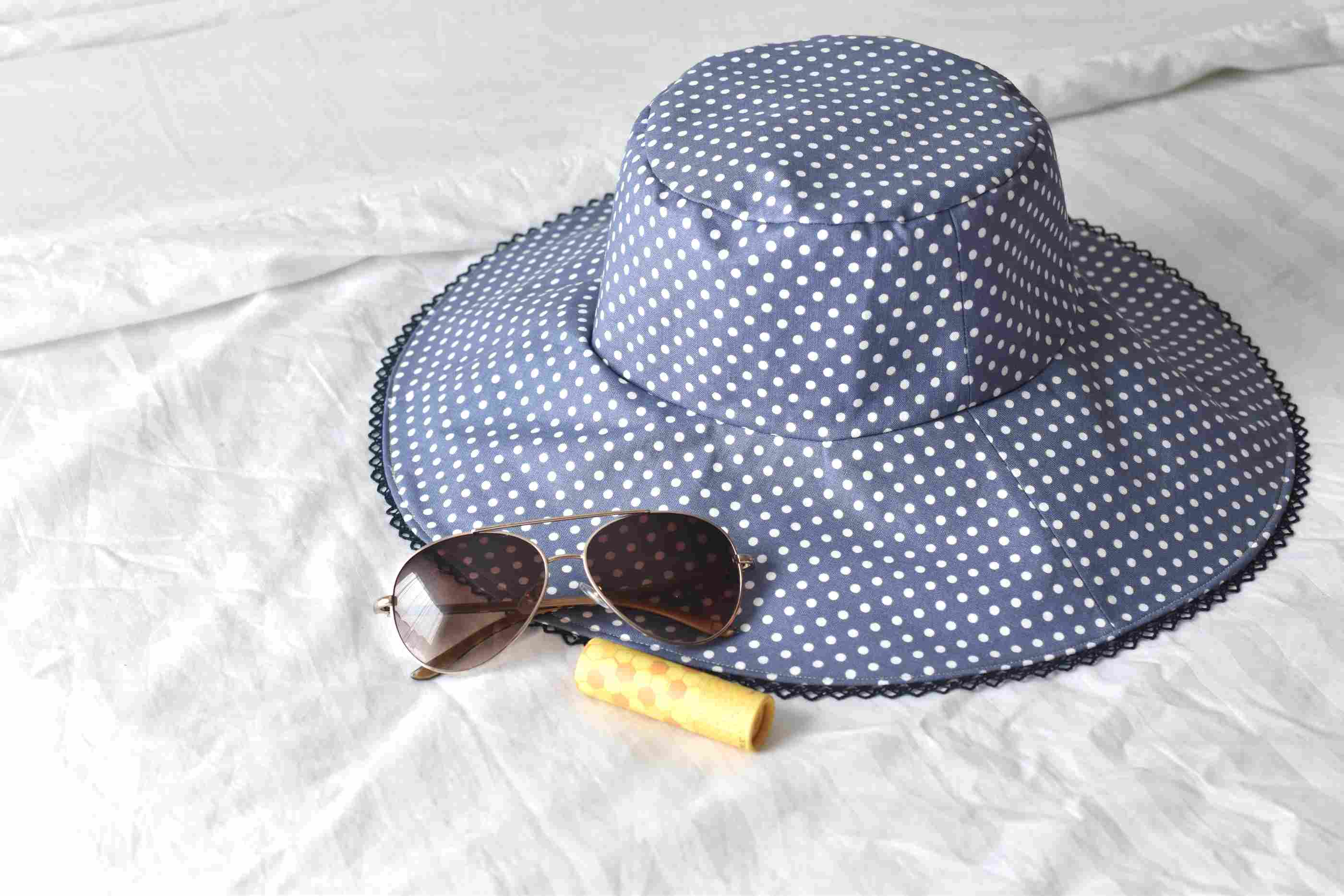 How To Sew A Reversible Sun Hat