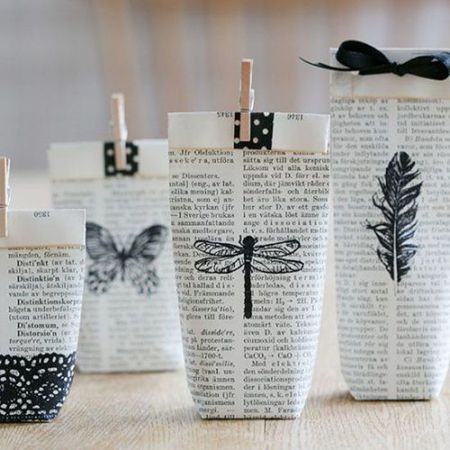 26 Creative Newspaper Crafts