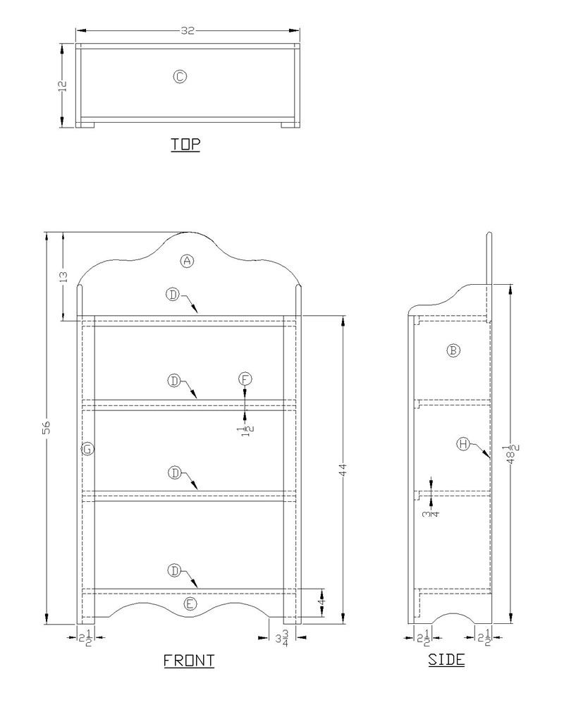 17 Free Bookshelf Plans You Can Build Right Now Pdf Diy Cool Electronic Projects Download Computer Desk Blueprints