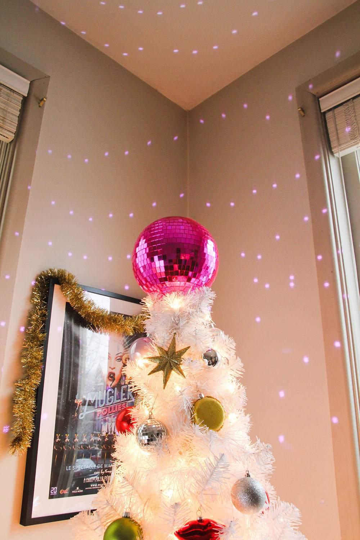 DIY Disco Ball Tree Topper