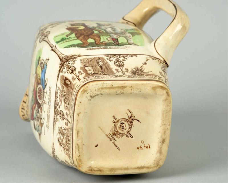 Buffalo Pottery mark on milk pitcher