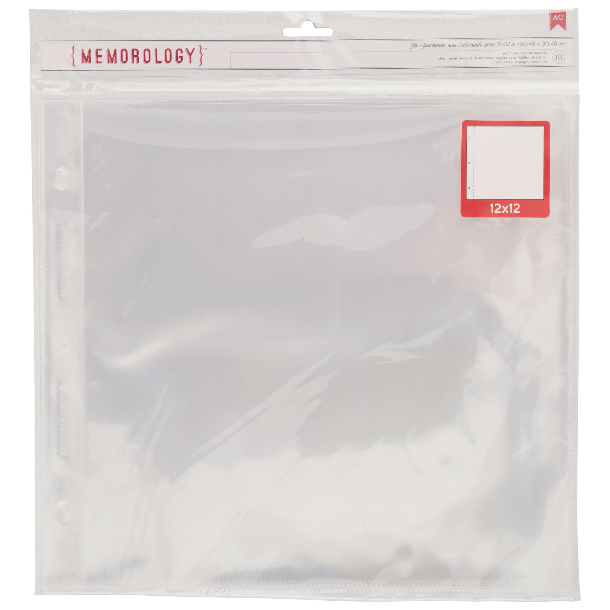 American Crafts Page Protectors 12 x 12