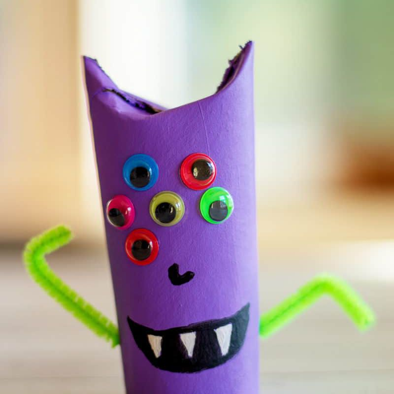 Monster DIY craft
