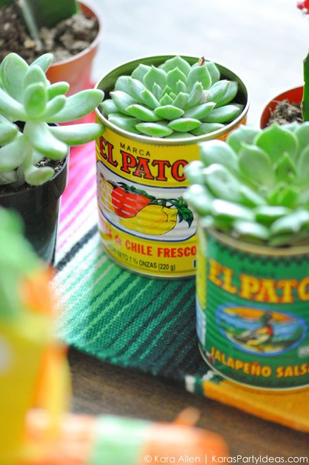 10 paper crafts perfect for cinco de mayo succulent mexican style floral centerpiece mightylinksfo