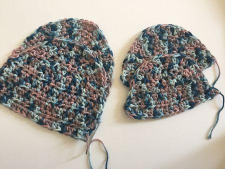 Crochet Oven Mitt Free Pattern