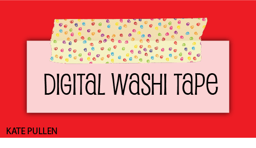 Digital washi tape