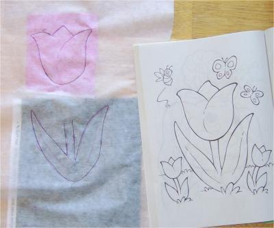 Stitch the Fabric and Interfacing