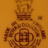Ca. 1939 Royal Doulton 1939 Mark