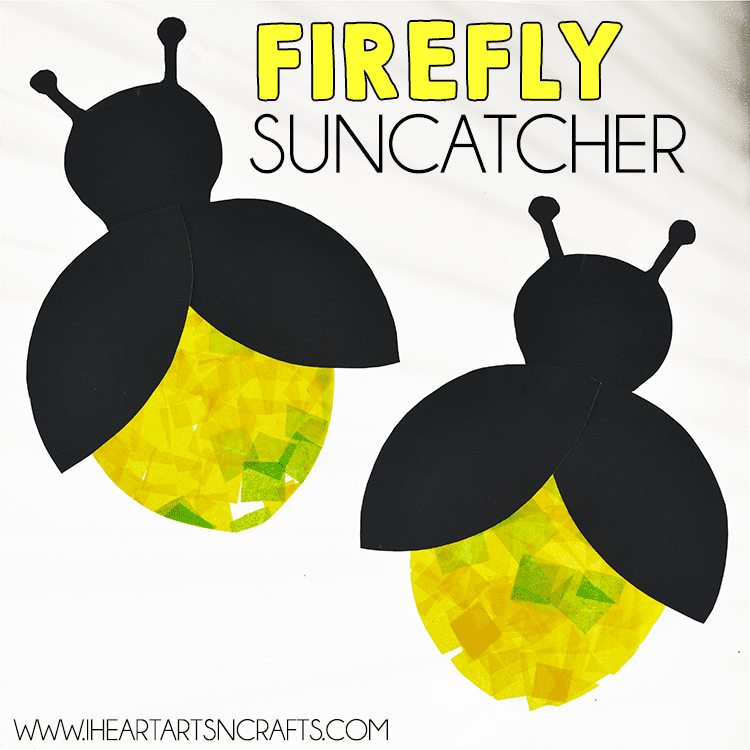 Firefly Suncatcher Craft