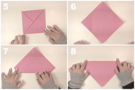 Rectangular Origami Box Instructions