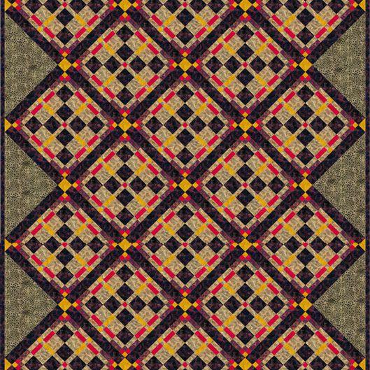 Chariot Wheel Quilt Pattern