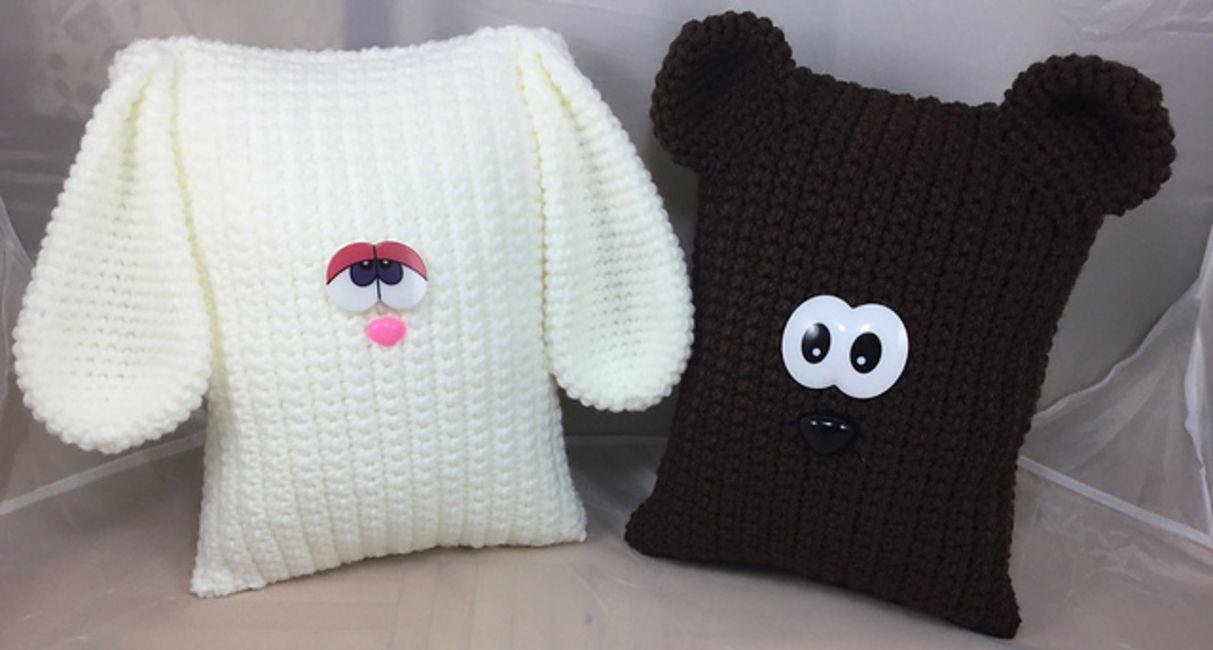 Crochet Animal Pillows