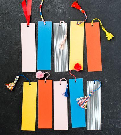 Tassel and Pom Pom Bookmark