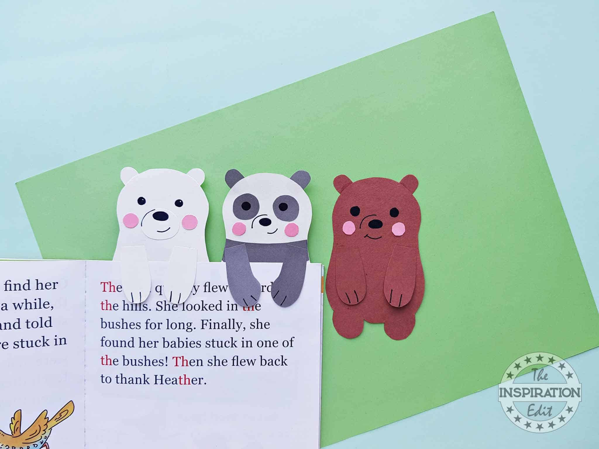 Bear Bookmarks