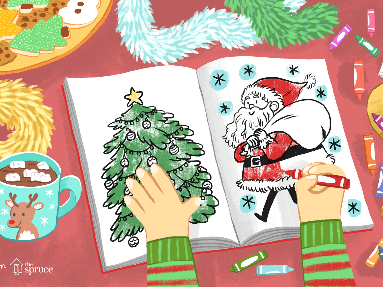 Top 28 Places To Print Free Christmas Coloring Pages