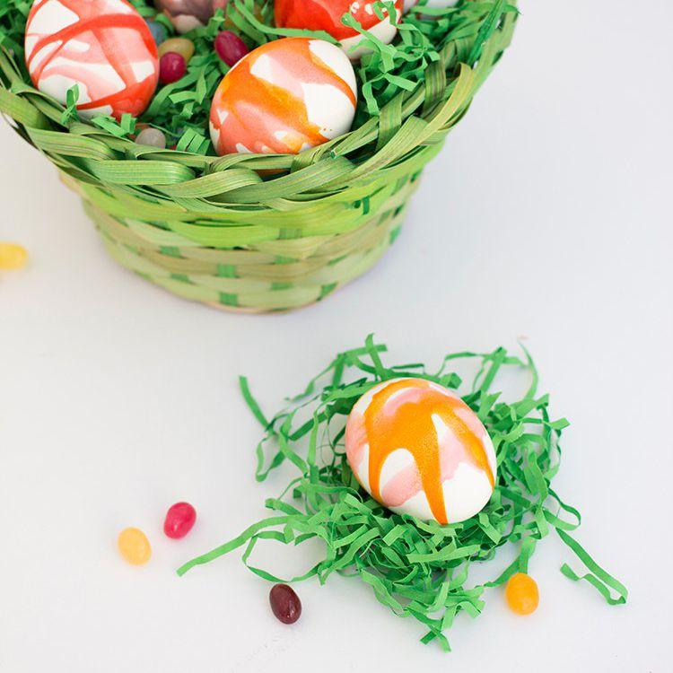 DIY Kool-Aid Dyed Easter Eggs