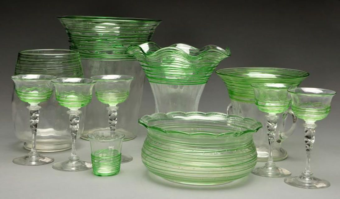 Identifying And Dating Steuben Glass