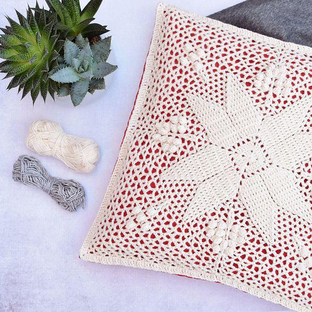 Fire Square Crochet Pattern