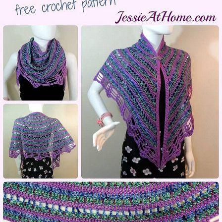 Panda Wrap Free Crochet Pattern