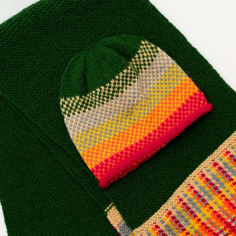 Fairisle Gradient Hat Knitting Pattern
