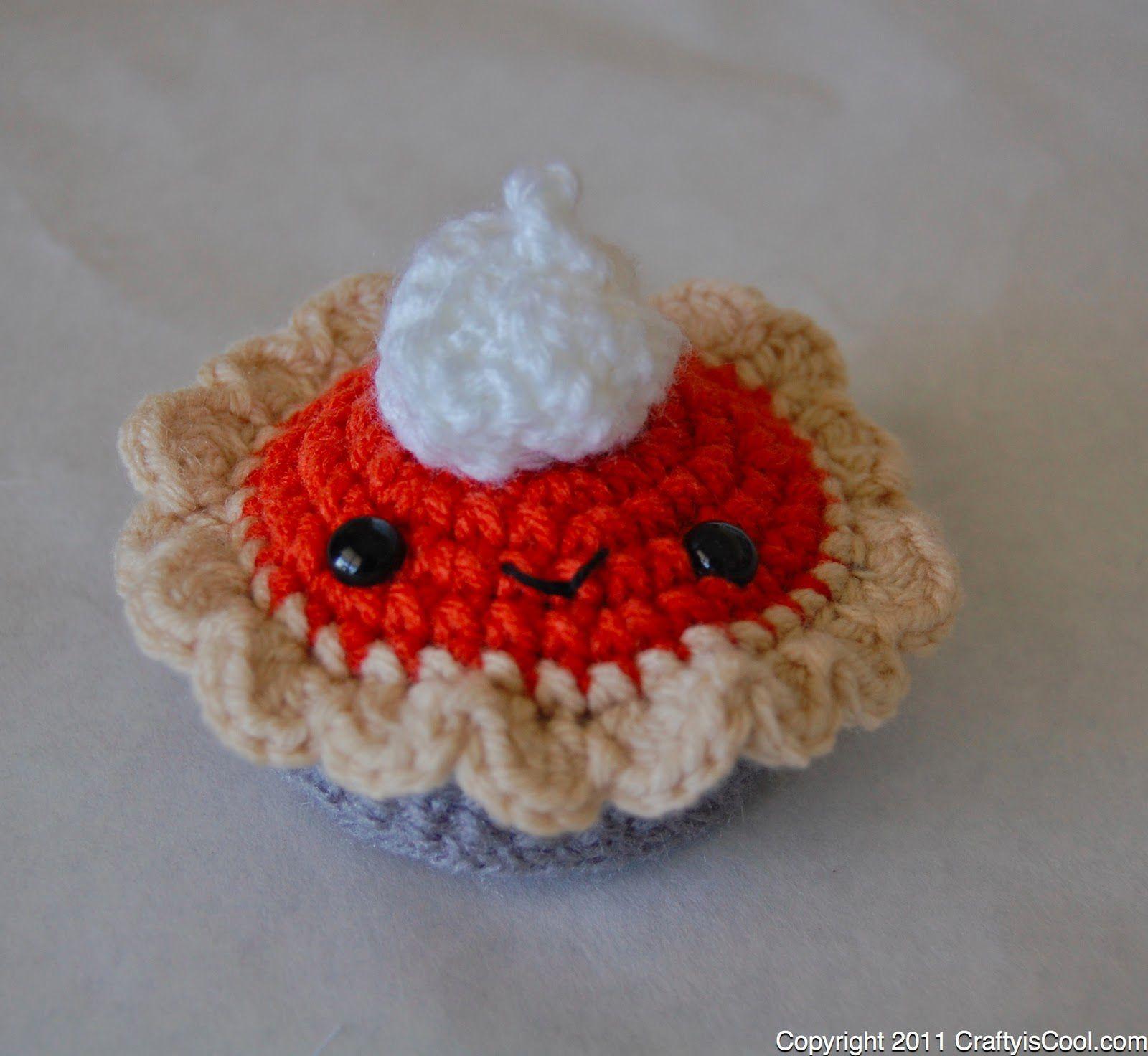 Pumpkin Pie Crochet Pattern