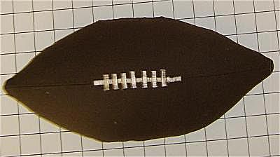 Free Pattern and directions to sew a football throw pillow