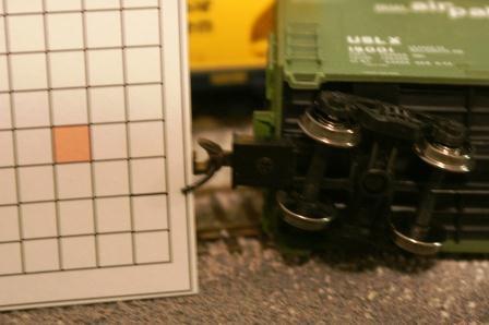 Maintenance of waybill trains