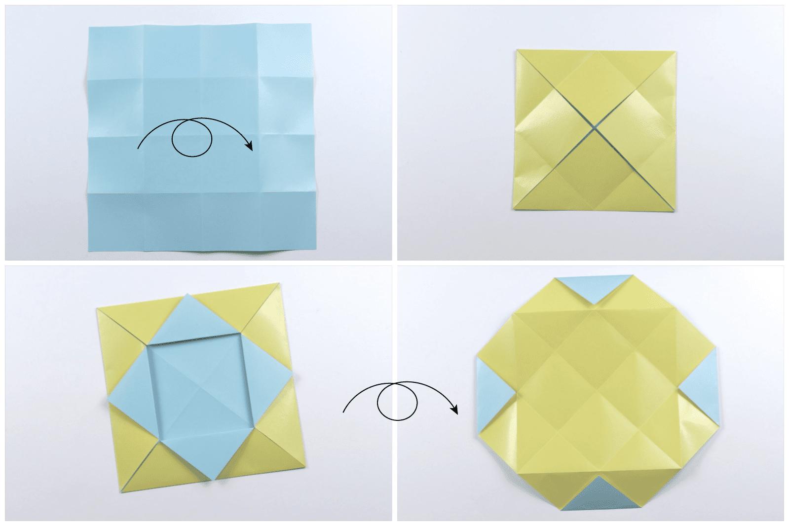 Origami Quilt Artwork Tutorial 02