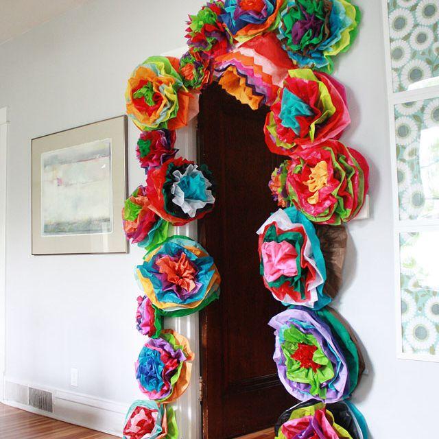 DIY Fiesta Paper Flowers
