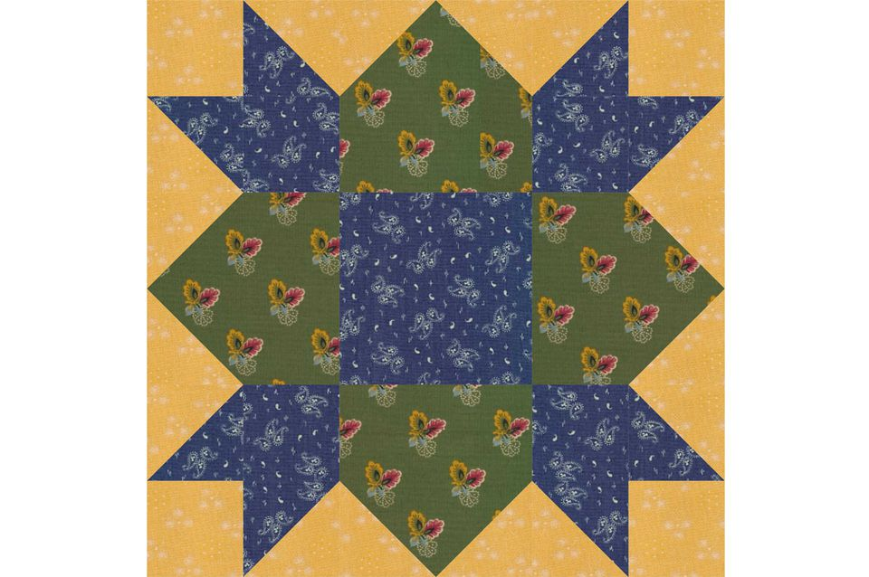 Weathervane Quilt Block Pattern