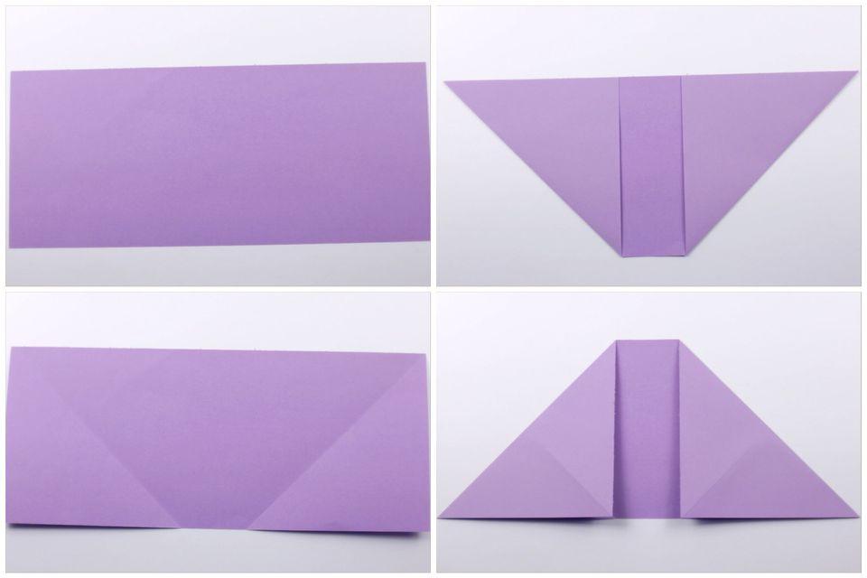 Origami Dollar Heart Tutorial 01