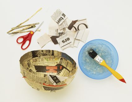 paper mache history and facts