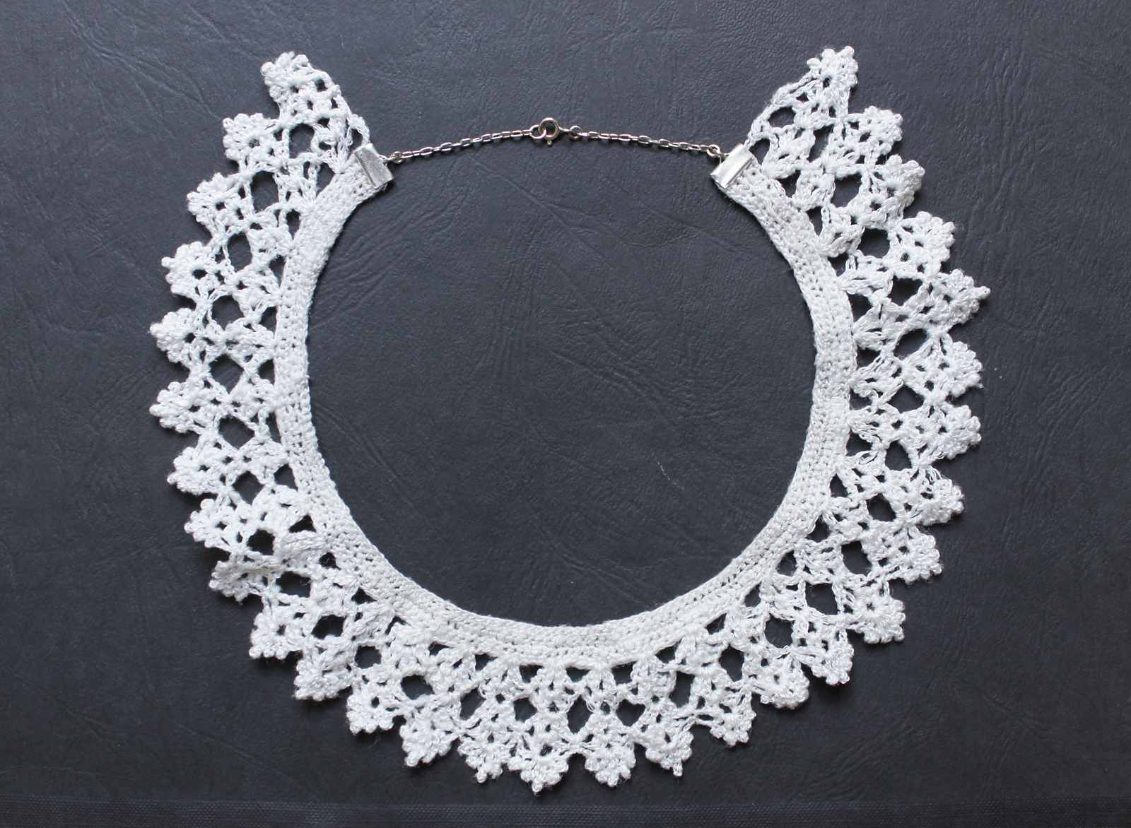 10 Crochet Lace Collar Patterns